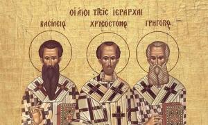 Οι Τρεις Ιεράρχες και η προσφορά τους