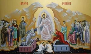 Η Ανάσταση του Χριστού μας είναι το νόημα της πίστη μας